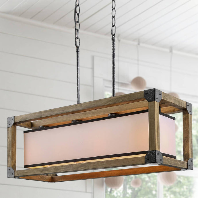 RUSTIC BOX ISLAND CHANDELIER - Exquisite Home Furnishings Powered by IEE Brothers LLC