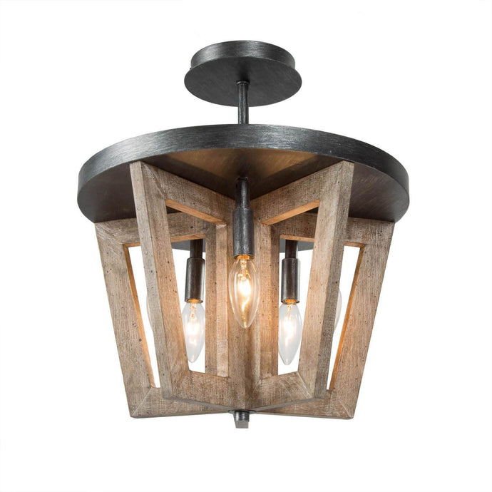 FARMHOUSE WOODEN CEILING LIGHT - Exquisite Home Furnishings Powered by IEE Brothers LLC