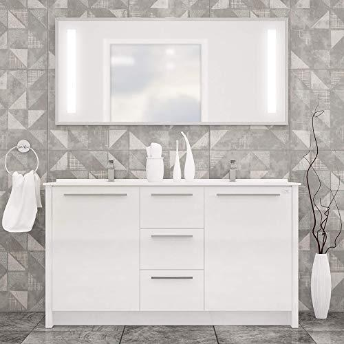 NONA MODERN DOUBLE SINK FREESTANDING BATHROOM VANITY AND SINK COMBO - Exquisite Home Furnishings Powered by IEE Brothers LLC