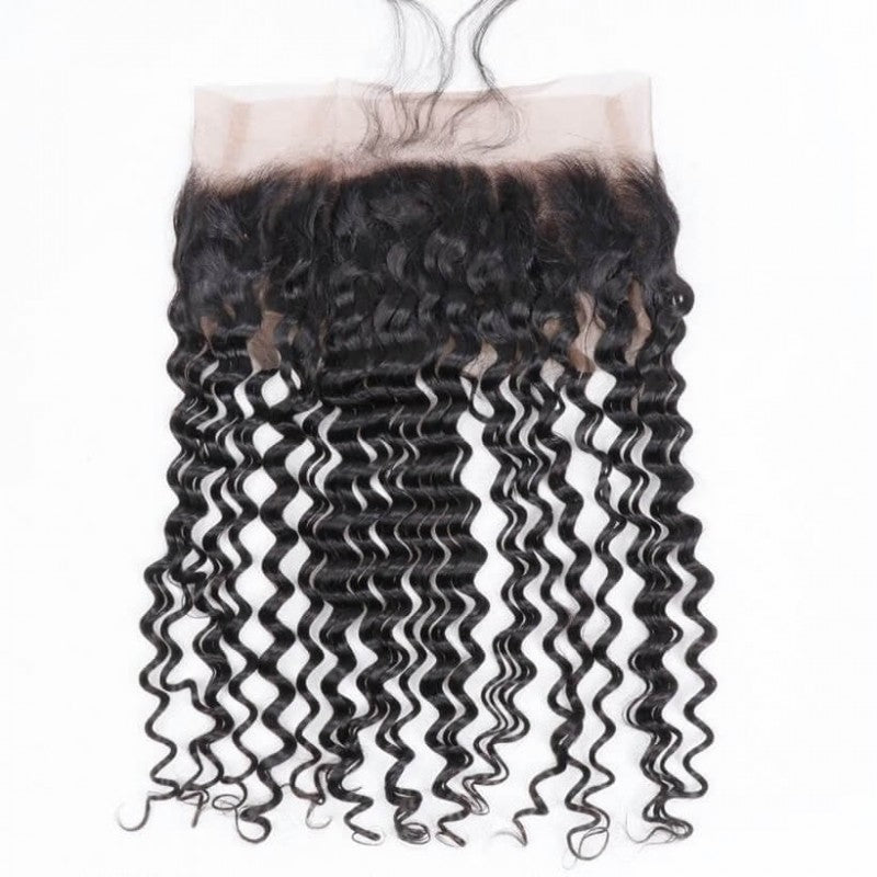 360 Brazilian deep wave lace frontal