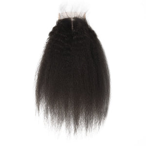 Indian Kinky Straight Lace Closure