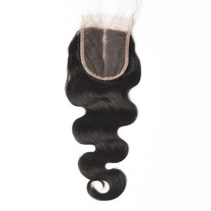 Peruvian body wave and middle part lace frontal