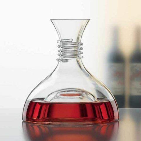 Image of SPIEGELAU RED & WHITE 1.0 L/35.3 OZ DECANTER (SET OF 1) (Available 1/19/2021)