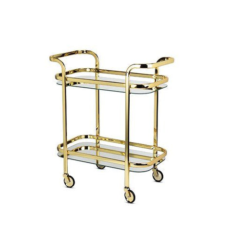 Belmont: Gold Bar Cart (Available on 06/29/2021)
