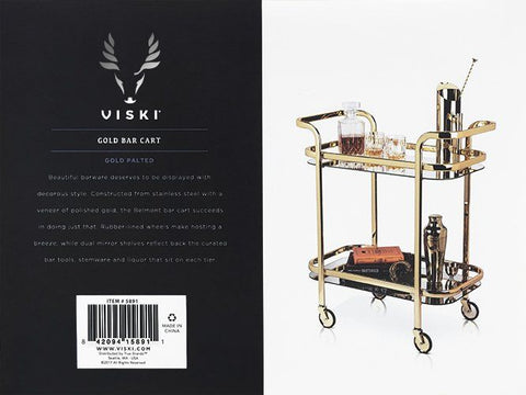 Image of Belmont: Gold Bar Cart