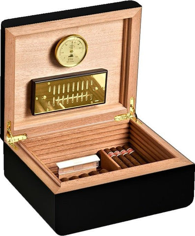 Image of Carrara L - Deluxe Humidor 9 (High Gloss) by Adorini