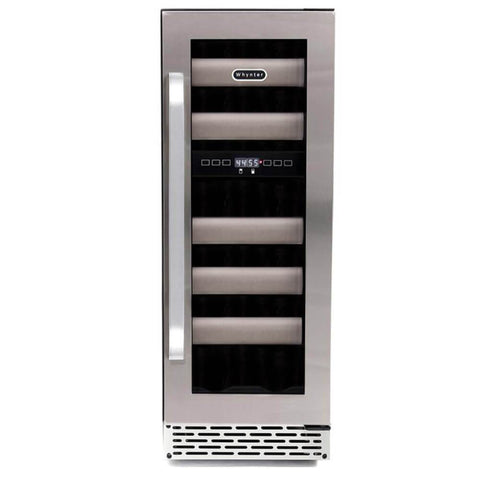 Image of Elite Seamless Stainless Steel Fridge 2 by Whynter