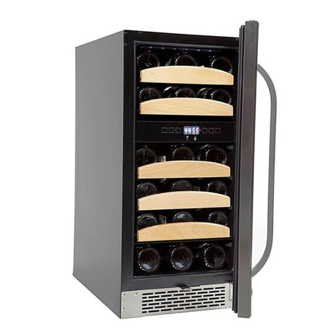 Image of 28 Bottle Dual  Temp Wine Cooler by Whynter