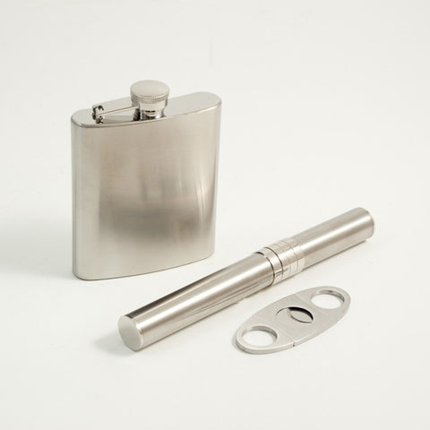 4 Pieces Gift Set. Stainless Steel (7 oz)  by Bey-Berk