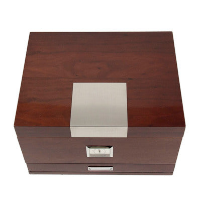 Bey-Berk Walnut Humidor Accessories Drawer