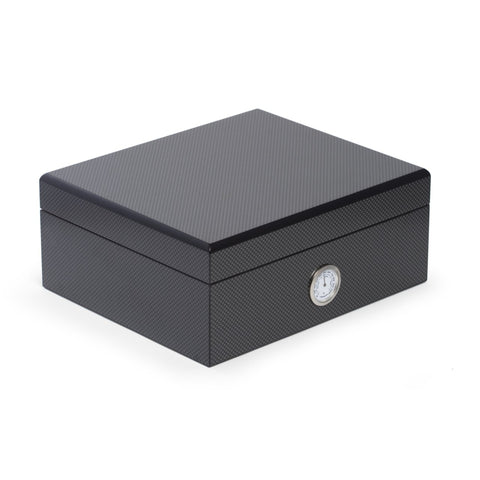 Carbon Fiber Design Humidor (Gift Set) by Bey-Berk