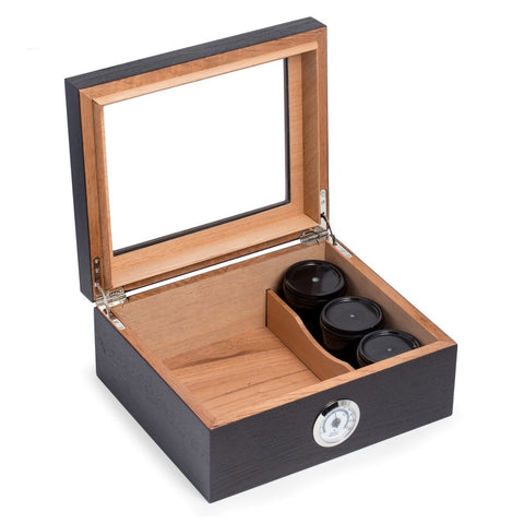 Image of Tobacco Espresso Wood Humidor by Bey-Berk