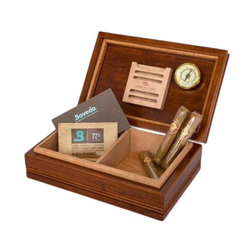 Image of Amish Crafted Humidor w/ Heritage Cherry Finish