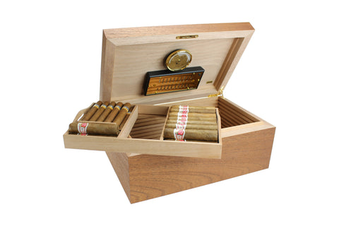 Image of Cedro Deluxe Cedar Wood Humidor by Adorini
