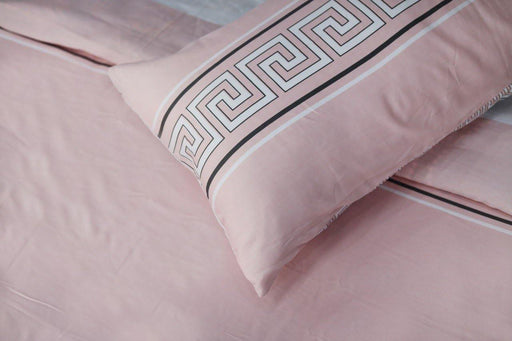 Iridescent Pink bedsheet set - Cotton Passion