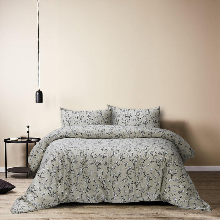 Jasmine's Garden Quilt Cover Set - Cotton Passion