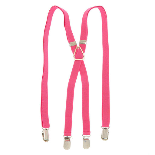 Skinny Braces - Pink - Cotton Passion