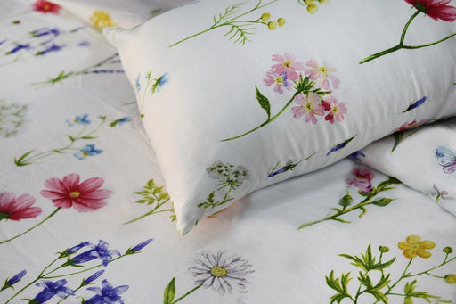 Floral Delicacies Bedsheet Set - Cotton Passion