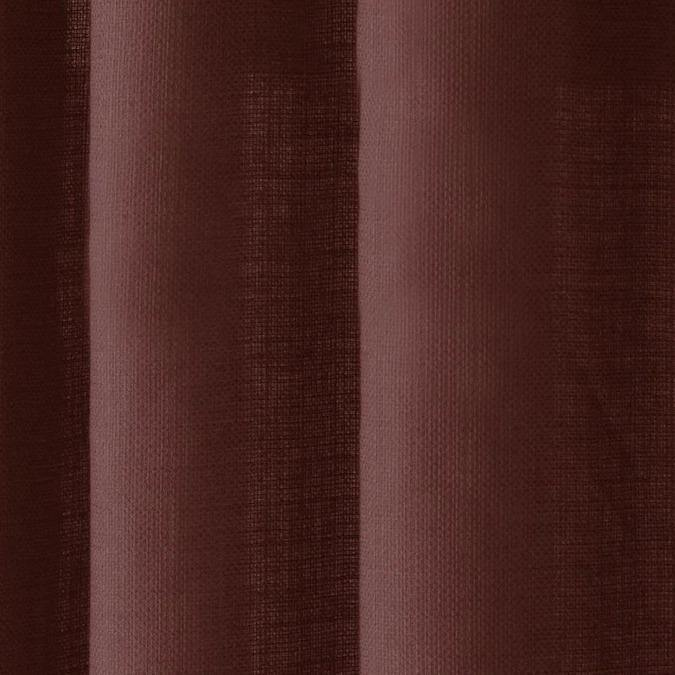Delmar Brick Polyester Light Filtering Single Curtain Panel - Cotton Passion