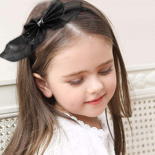 Sparkled Bow Hairband - Cotton Passion