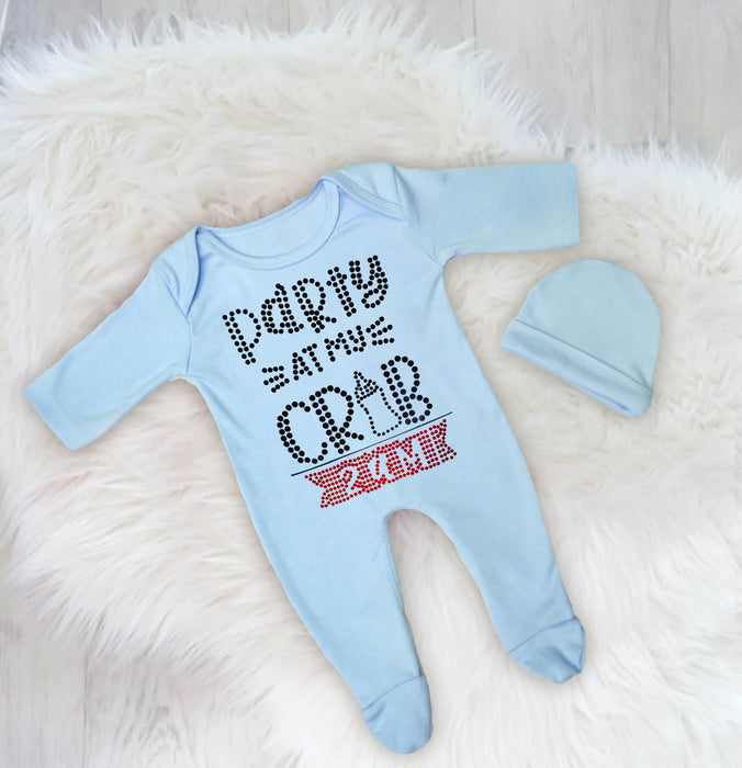 Party At My Crib Baby Romper Set
