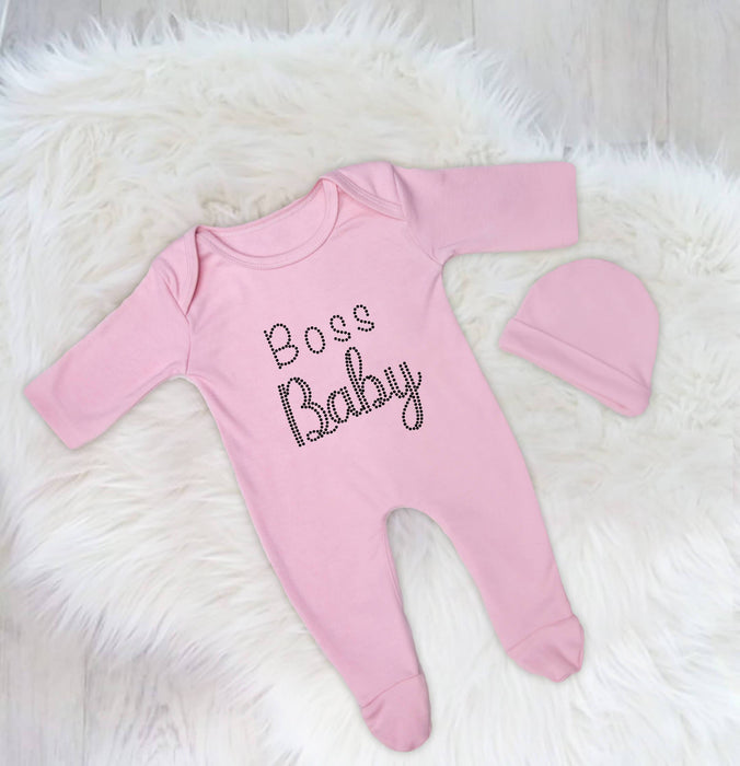 Boss Baby Custom Designed Baby Romper Set