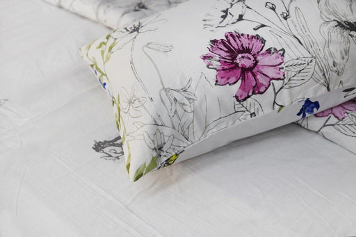 Lavandula Garden Bedsheet Set - Cotton Passion