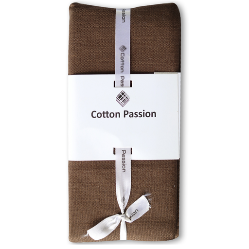 Chocolate Brown Napkins - Cotton Passion