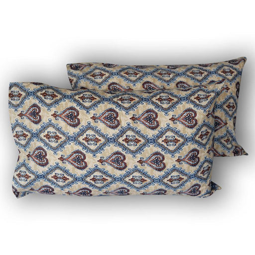 Classical Hearts Pillow Covers - Cotton Passion