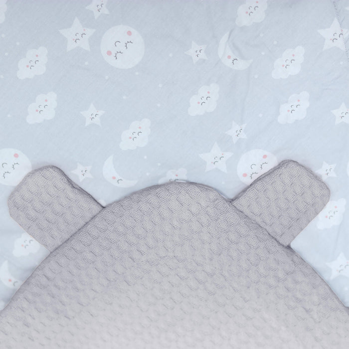 Clouds & Stars Bear Ear Baby Wrap