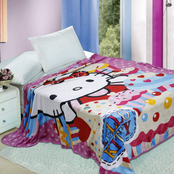 Hello Kitty Fleece Blanket - Cotton Passion