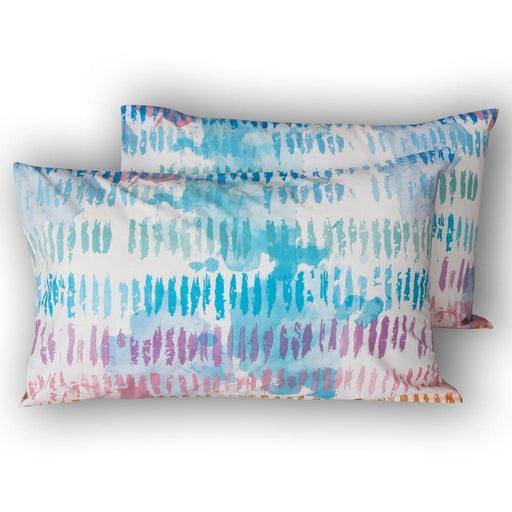 Indigo Pink Pillow Covers - Cotton Passion