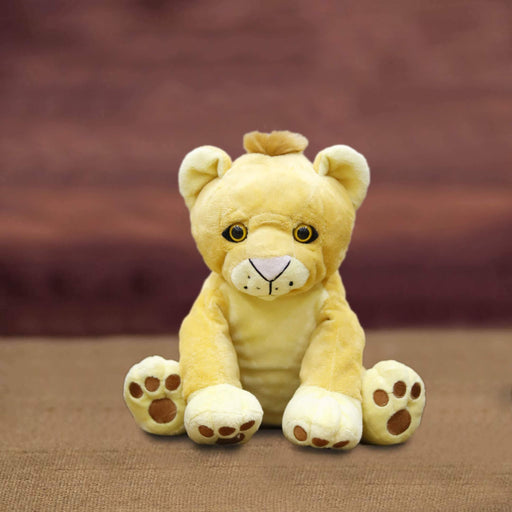 Lion Small Stuffed Toy L - (11 inches) - Cotton Passion