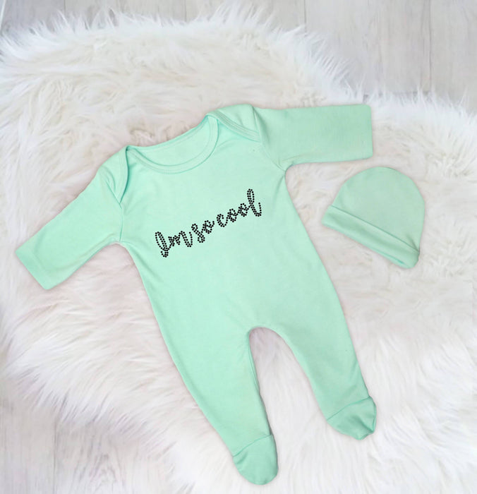 I Am Soo Cool Baby Romper Set
