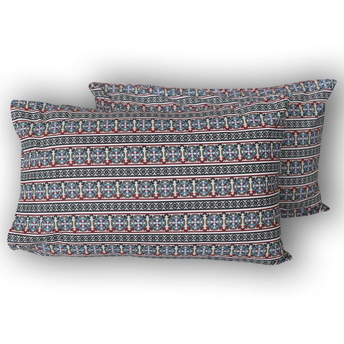 Oblong Sky Pillow Covers - Cotton Passion