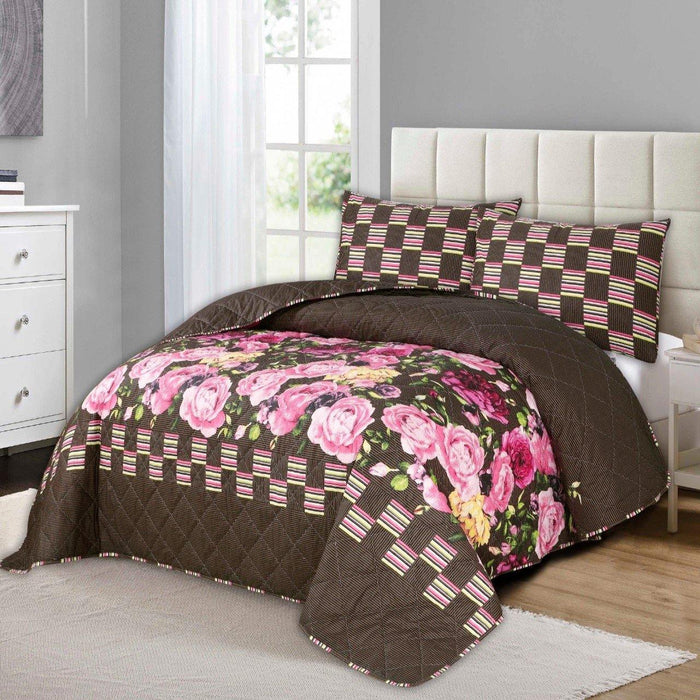 Floral Heaven Polycotton Bedsheet Set - Cotton Passion
