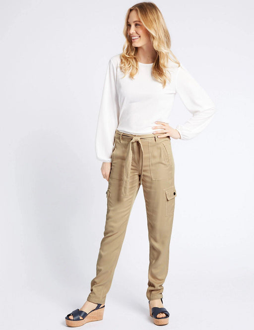Pure Modal Cargo Trousers - Cotton Passion