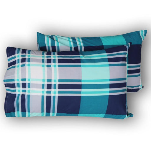 Sapphire Blue Pillow Covers - Cotton Passion