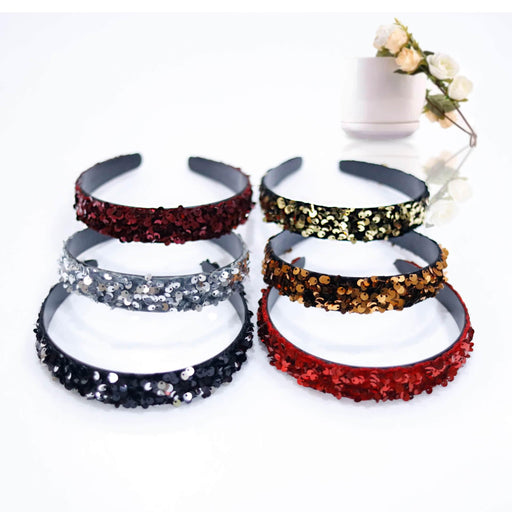 Sequin Hairband - Cotton Passion