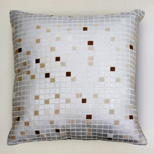Silver Boxes Cushion Cover - Cotton Passion
