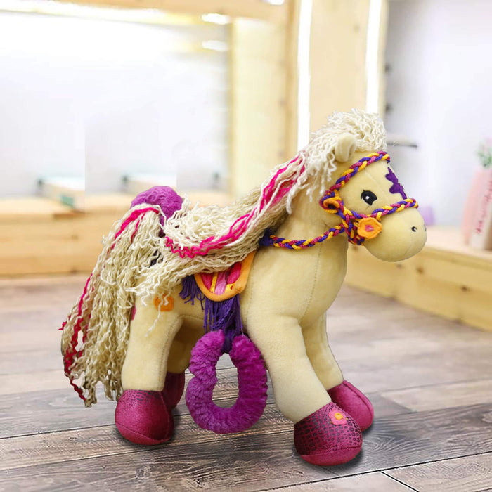 Pony Stuffed Toys L - 13 inches x W 13 inches - Cotton Passion
