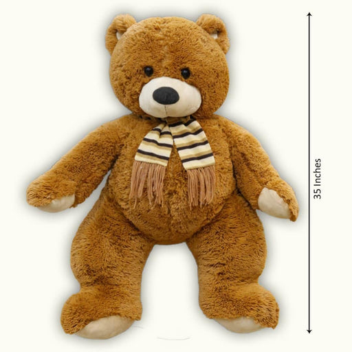 Stuffed Brown Bear Large (38 inches) - Cotton Passion