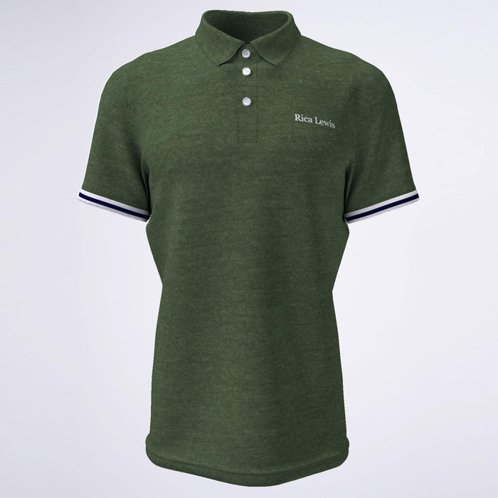 Rica Lewis Polo Shirt Green - Cotton Passion