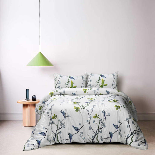 Bird's Nest Quilt Cover Set - Cotton Passion