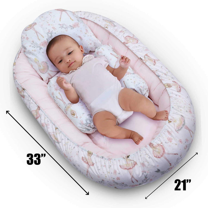 Ballerina Style Baby Snuggle Bed - Cotton Passion