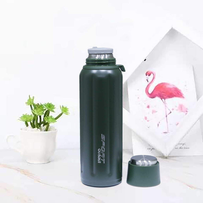 Gym Sports Steel Water Bottle - Cotton Passion