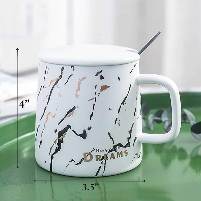 Hang on to your Dreams Ceramic Mug - Cotton Passion