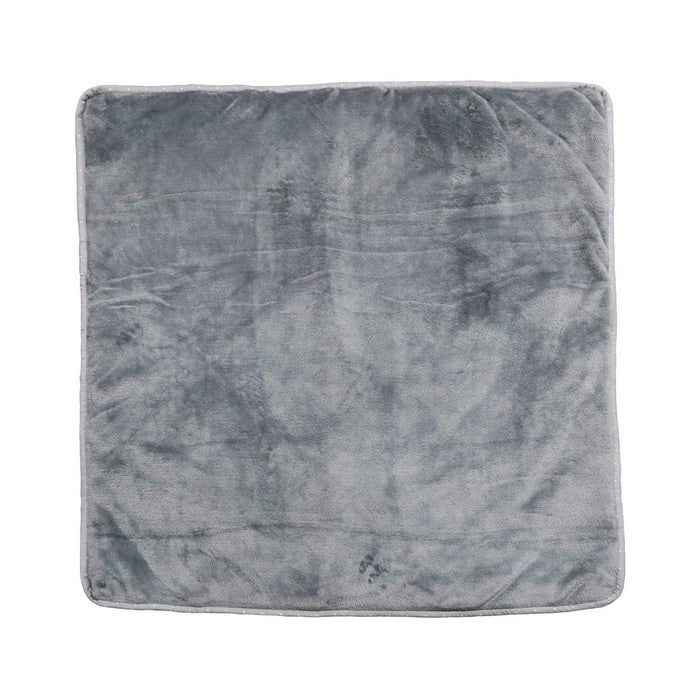 Ultrasoft Reversible Grey Elephant Baby Sleeping Wrap - Cotton Passion