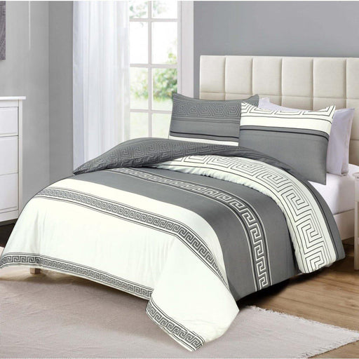 Iridescent Grey bedsheet set - Cotton Passion