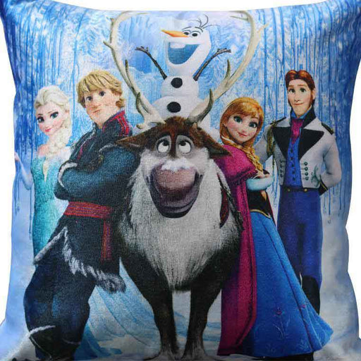 Frozen Printed Cushion - Cotton Passion